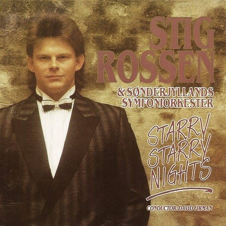 CD Cover - Stig Rossen Starry starry nights fra 1991