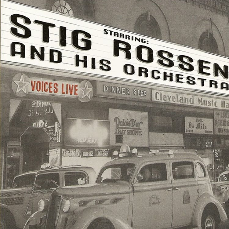 CD Cover - Stig Rossen VOICES fra 2008