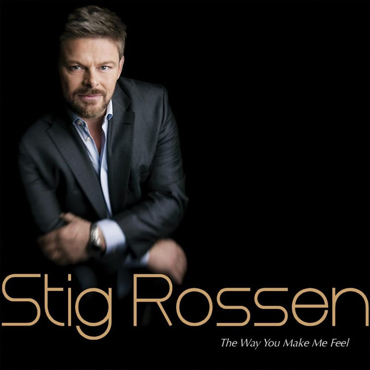 CD Cover - Stig Rossen The way you make me feel fra 2012